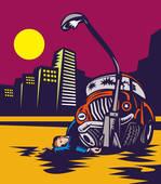 Une personne victime d'un accident de la route contre un poteau à haute tension, peut elle sortir de son véhicule si elle en est capable physiquement ?