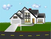 Les maisons avec des toits en ardoises se situent le plus fréquemment ?