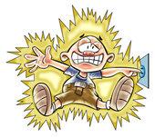 Une brulure d'origine électrique doit être toujours considérée comme grave