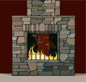 Comment éteind t'on un feu de cheminée ?