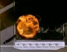 Lorsque j'ai un feu de friteuse, je l'éteinds comment ?