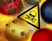 De quelle couleur sont les sacs déchets pour les matières à risques infectieux ?