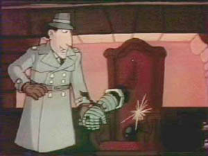 Pourquoi appelle t'on le monsieur Inspecteur Gadget ?
