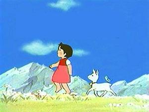 Dans quel dessin animé retrouve t'on cette petite fille ?