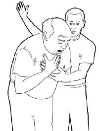 Combien de claques dans le dos doit on administrer pour une désobstruction des V.A. chez l'adulte ?