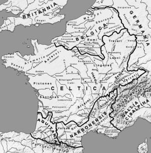 Durant la civilisation gauloise, comment appelé t'on les villes fortifiées ?