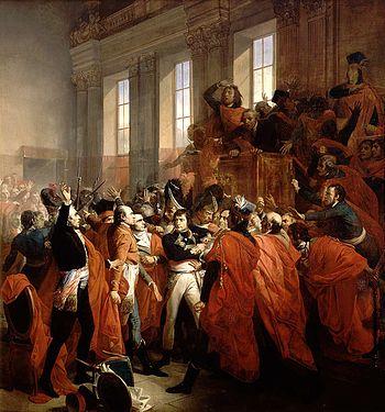Qu'est ce qui marqua la fin du Directoire et de la Révolution française, ainsi que le début du Consulat ?