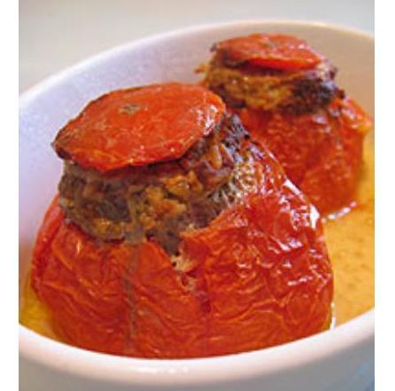 Comment sont cuites ces tomates farcies ?