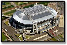 Quelle est la capacité de ce stade (stade Aréna AMSTERDAM) ?