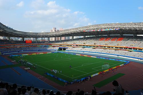 Quelle est la capacité de ce stade (Shanghai Stadium CHINE) ?