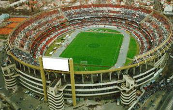 Quelle est la capacité de ce stade (Antonio Vespucio Liberti ARGENTINE ) ?