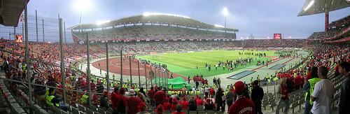 Quelle est la capacité de ce stade (Ataturk Stadium Istanbul TURQUIE) ?
