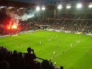 Quelle est la capacité de ce stade (stade de la route de Lorient RENNES) ?