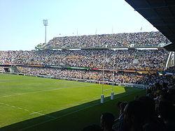 Quelle est la capacité de ce stade (stade de la Mosson MONTPELLIER) ?