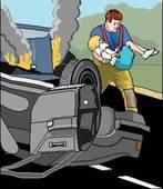 Lors d'un accident de la route, le conducteur d'un véhicule est inconscient et en arrêt cardio-respiratoire. Dois-je le sortir du véhicule ?